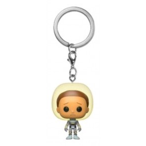 Rick and Morty - Morty Space Suit Pocket Pop! Keychain