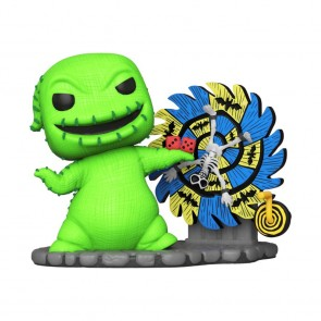 The Nightmare Before Christmas - Oogie Boogie with Spinwheel Neon US Exclusive Pop! Deluxe