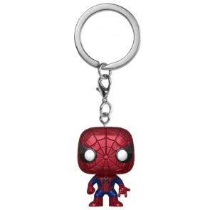 Spider-Man - Spider-Man Metallic US Exclusive Pocket Pop! Keychain