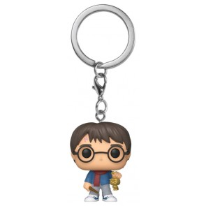 Harry Potter - Harry Holiday Pocket Pop! Keychain