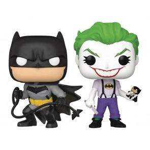 Batman - Batman & Joker (White Knight) US Exclusive Pop! Vinyl 2-Pack